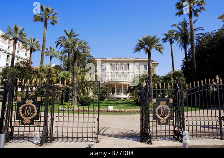 Museum Musee Massena, Nice, Alpes-Maritimes, Provence-Alpes-Cote d'Azur, Southern France, France, Europe - Stock Photo