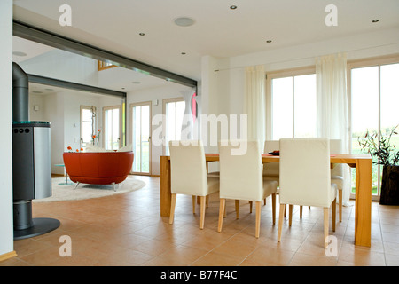 ... Modernes Esszimmer, Modern Dining Room   Stock Photo