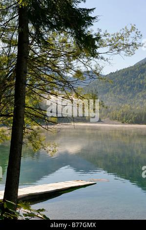 Plansee, Tyrol, Austria, Europe - Stock Photo