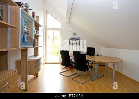 Design Arbeitszimmer modernes arbeitszimmer modern home office stock photo 21677943 alamy
