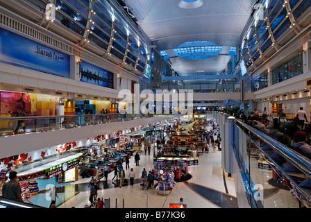 International airport, Emirate of Dubai, United Arab Emirates, Arabia, Near East - Stock Photo