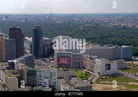 Potsdamer and Leipziger Platz in Berlin, Germany, Europe - Stock Photo