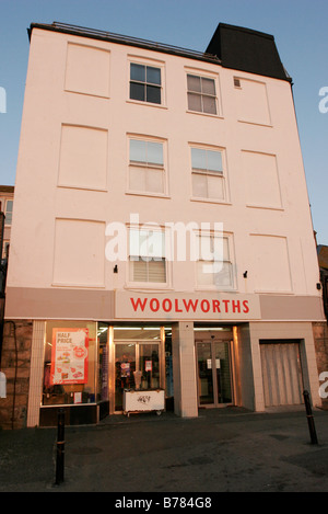 Early morning light on the Woolworths at St Ives in Cornwall - Stock Photo