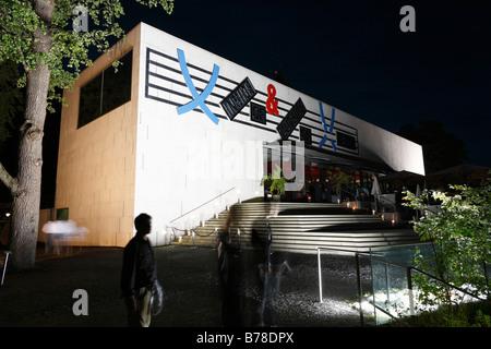 Museum der Moderne, on Moenchsberg, Salzburg, Austria, Europe - Stock Photo
