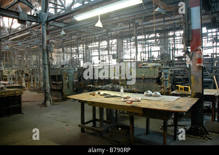 A west end Toronto factory undergoing closure and site redevelopment - Stock Photo