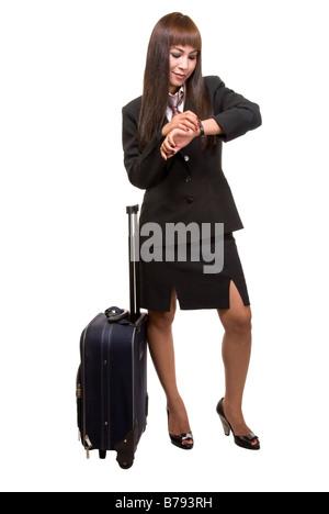 Business traveller - Stock Photo