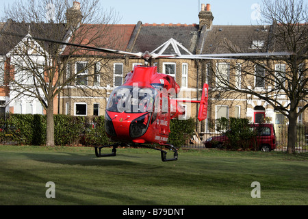 HEMS London's Air Ambulance - Stock Photo
