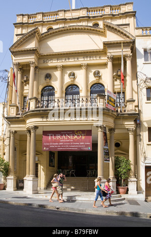 Astra Theatre, Victoria, Gozo, Malta - Stock Photo