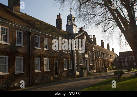 Geffrye Museum exterior, Kingsland Road, London GB UK Collections of British furniture, textiles, paintings and - Stock Photo
