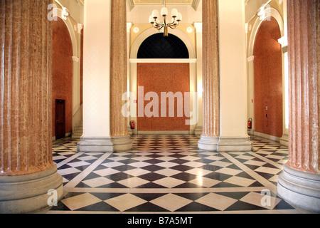 Entrance area, foyer, Stock Exchange in Vienna, Austria, Europe - Stock Photo