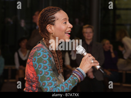The soul and jazz singer Jocelyn B. Smith, Berlin, Germany, Europe - Stock Photo