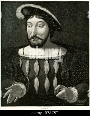 Francis I François Premier François d'Angoulême 12 September 1494 – 31 March 1547 King of France - Stock Photo