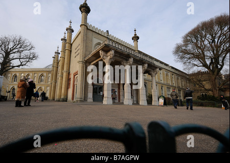 Brighton Museum and Art Gallery near the Brighton Pavilion. Picture by Jim Holden. - Stock Photo