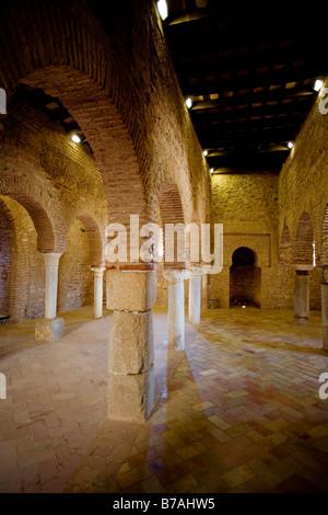 Arab Mosque Almonaster la Real National Park in the Sierra de Aracena and Picos de Aroche Huelva Andalusia Spain - Stock Photo