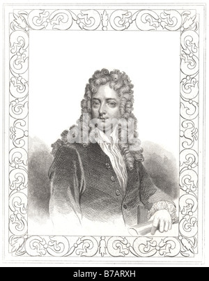 Joseph Addison (May 1, 1672 – June 17, 1719) was an English essayist and poet. He was a man of letters, eldest son - Stock Photo