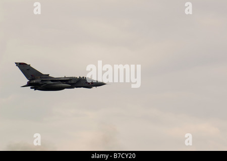 Panavia Tornado GR4 operated by the Royal Air Force, seen at Biggin Hill Airshow, 2008 - Stock Photo