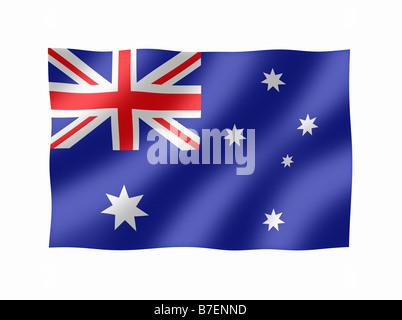 Australia Australian Flag - Stock Photo