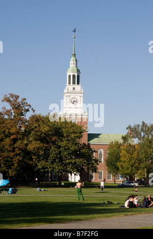College Green at Dartmouth College Hanover NH New Hampshire New England United States of - Stock Photo
