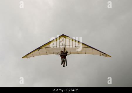 Hand gliding in Rio De Janeiro. - Stock Photo