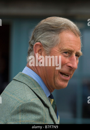 HRH Prince Charles Prince of Wales - Stock Photo