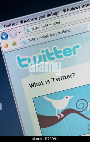Twitter - Stock Photo