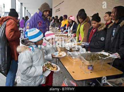 Elegant ... Volunteers Serve Meal To The Homeless At Outdoor Soup Kitchen   Stock  Photo Photo Gallery