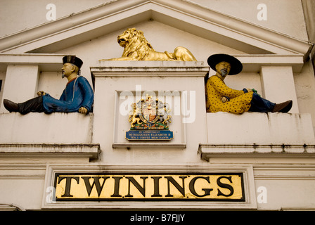 Twinings retail store , The Strand , London - Stock Photo