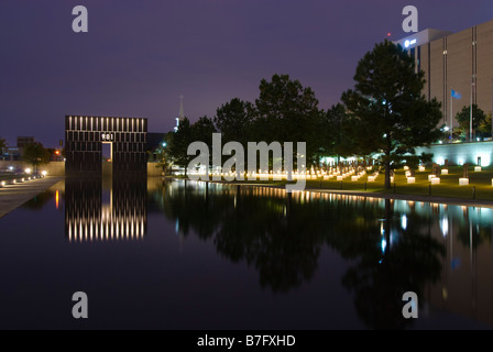 Oklahoma City National Memorial and Museum in Oklahoma City, Oklahoma, USA. - Stock Photo