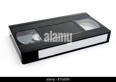 Old VHS cassette - Stock Photo