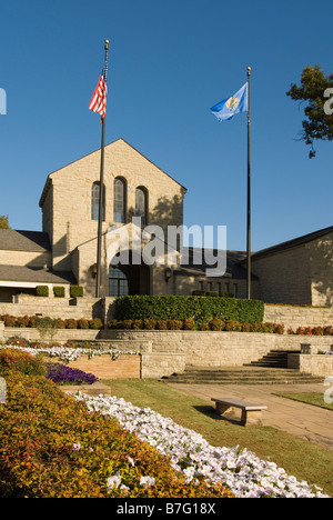 USA, Oklahoma, Claremore, Will Rogers Memorial Museum, photograph of Will Rogers