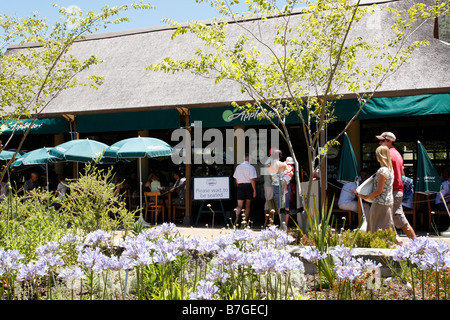 tearooms near gate 2 entrance within kirstenbosch national botanical garden founded in 1913 cape town south africa - Stock Photo