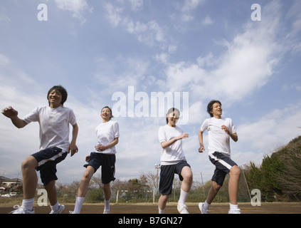 Physical Education Class - Stock Photo