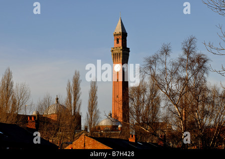 Joseph Chamberlain Memorial Clock Tower, Birmingham University, West Midlands, England, UK - Stock Photo