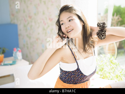 A young woman - Stock Photo