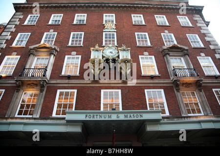 Fortnum Mason Shop Picadilly London - Stock Photo