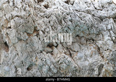 Wall of rock background - Stock Photo