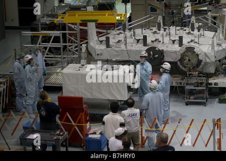 NASA International space station ISS JEM Assembly JAXA Japanese Experimental Module Kibo - Stock Photo