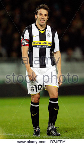 alessandro del piero'torino 13-11-2008'italian soccer championship serie a 2008-2009'juventus-genoa 4-1 - Stock Photo