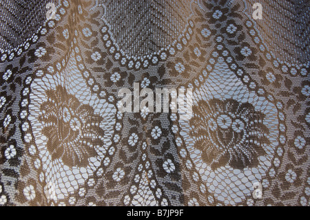 Net curtain - Stock Photo