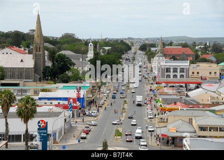 View of King William's Town, part of the Frontier District of the Eastern Cape, South Africa. 1820 Settler Stock Photo