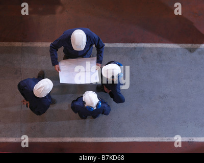 Group Of Engineers - Stock Photo