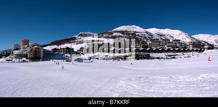 Sestriere, Piemont, Italy - Stock Photo