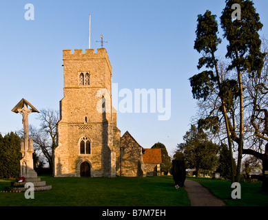 St Peters Church in Goldhanger village in Essex. - Stock Photo