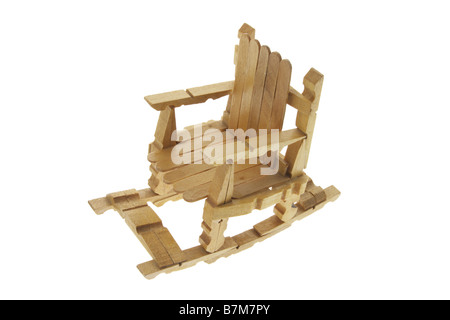 Miniature Rocking Chair - Stock Photo