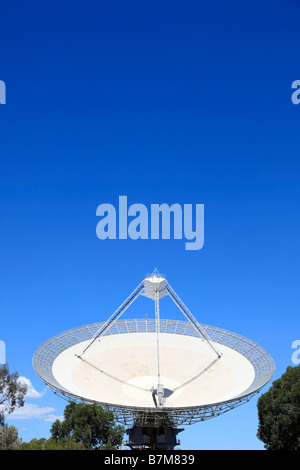 CSIRO Parkes Radio Telescope, Newell Highway,New South Wales,Australia - Stock Photo