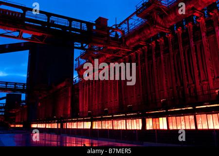 Zeche Zollverein kokerai coking plant, Essen Germany. - Stock Photo