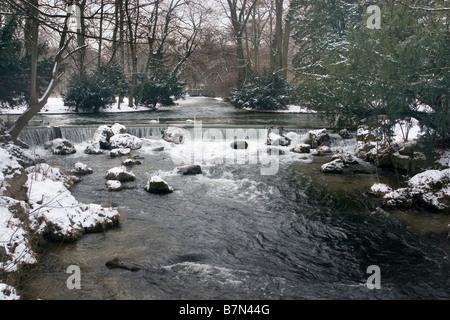 Englischer Garten, Munich, Bavaria, Germany - Stock Photo