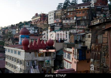 Shimla. Himachal Pradesh. India. - Stock Photo
