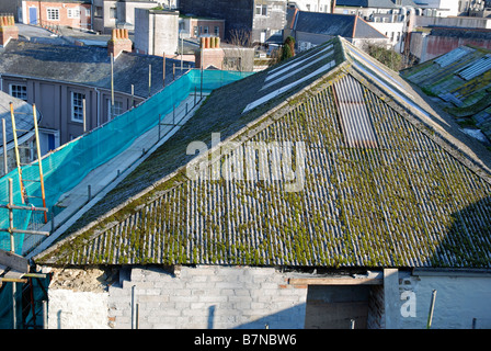 Asbestos Sheets Old Building Material With Dangerous