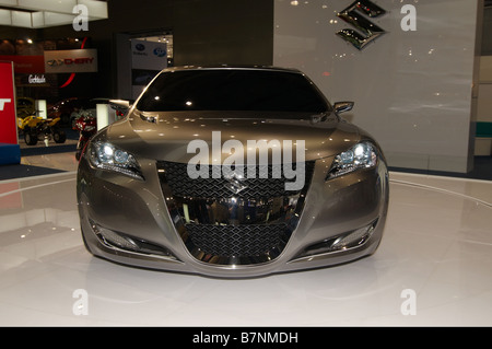Suzuki Kizashi 3 Concept Car Moscow International Automobile Salon